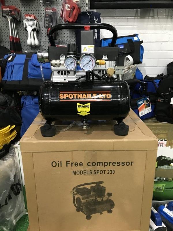 Spotnails 240V SFC19 Compressor LOW NOISE