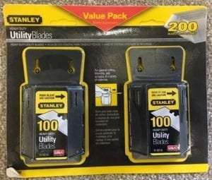 STANLEY Heavy Duty Blades x 200