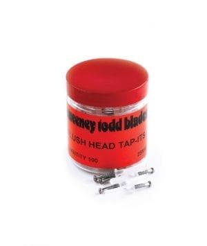 Tap Its x 100 Tub Countersunk + Flush Head