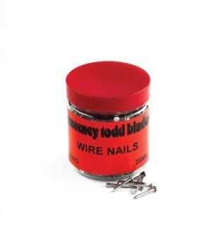 Wire Nails 25mm 500g Tub