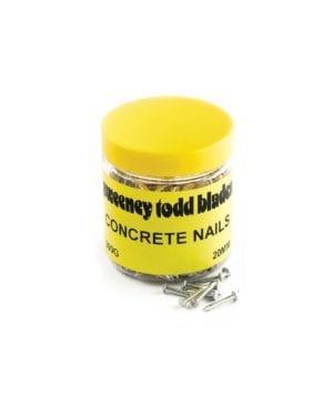Concrete Nails 20mm/25mm 500g/1kg Tubs